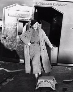 Lucille Ball. Air travel was popular with celebrities, but film studios often restricted their stars from flying. In Oct, 1934, movie studios removed flying restrictions, realizing the value of air travel for promotional tours. Airlines benefited as well when celebrities flew. It was no coincidence that an airline's name was featured in publicity photos. Photo credit: Museum of Flight