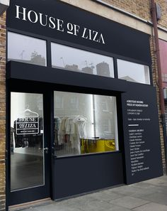 House of Liza storefront / identity by kissmiklos