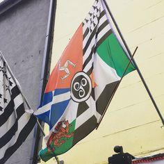Good to see the Cornish flag at The Celtic Cafe #Athlone #Kernow #StPirin #Cornwall