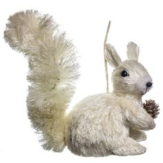 Sisal Squirrel Ornament | Woodland Christmas | Cracker Barrel Old Country Store - Cracker Barrel Old Country Store
