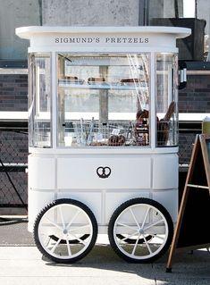 Sigmund's Pretzel Cart