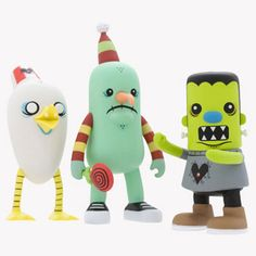 Kidrobot Heroes and Heartbreakers collection.