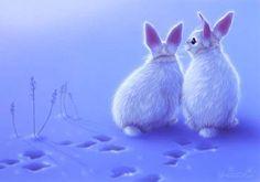 """Little Friends"" Rabbits   - Art of Kentaro Nishino"