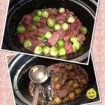 Vynikající hovězí na kapustičkách se v ústech jen rozplývá Beef, Food, Meat, Essen, Meals, Yemek, Eten, Steak