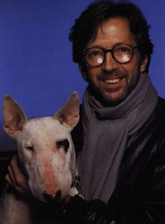 eric clapton and his dog -