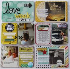 Through the Eyes of Moonie: Week 2 Project Life album