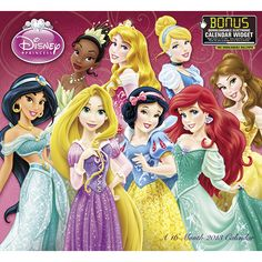 Disney Princess Wall Calendar: From Cinderella to Rapunzel, these timeless Disney heroines are favorites with girls of all ages. She'll enjoy this 2013 wall calendar featuring all her favorite Princesses.  http://www.calendars.com/Disney/Disney-Princess-2013-Wall-Calendar/prod201300006128/?categoryId=cat00144=cat00144