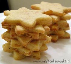 pomarańczowe ciasteczka Apple Pie, Gluten Free, Sweets, Cookies, Recipes, Narnia, Candy, Kitchen, Diet