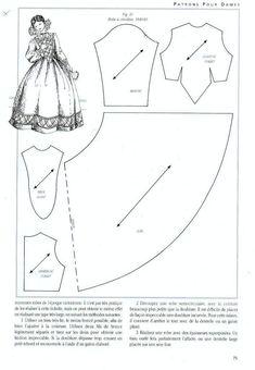 Foro de casas de muñecas y miniaturas :: Ver tema - Patrones de vestidos