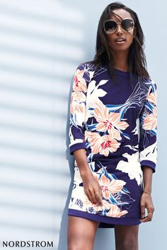 Welcome the beginning of warmer temperatures with fresh and vibrant dresses. A perfect Spring staple is this easy-going shift with a handful of explosive blossoms that enhance the resort-ready charm of this dress. Discover dresses in all shapes, styles and colors at Nordstrom today.