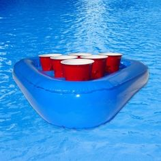 Pool Beer Pong Racks, Set of 2, from HomeWetBar.com