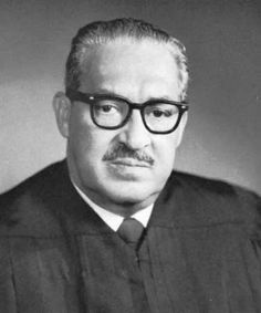Marshall Thurgood  1st Black Supreme Court Justice 1967-1991  Before his appointment to the high court, he graduated from Howard in 1933 and became chief counsel for the NAACP, where he challenged racial segregation most notably in higher education & Brown V Board of Education of Topeka (1954).