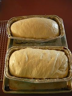 make-ahead bread dough you can store in the freezer...then pull out, thaw & bake