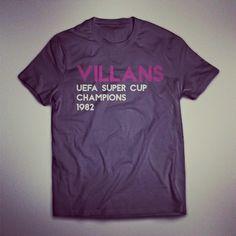 e85115b19ec Aston Villa FC Tshirt Hat Trick Apparel - Google+ www.hattrickapparel.com