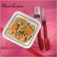 Emincés de poulet sauce au carré frais et à la moutarde miel balsamique #Companion - Mimi Cuisine