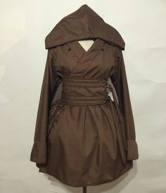 Obi Wan Kenobi Hooded Kimono Dress Set от skycreation на Etsy