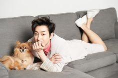 The Celebrity Magazine (June Edition) with Eunhyuk & Choco