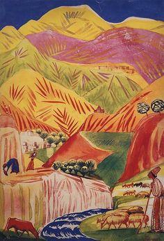 28 февраля 1880 года родился Мартирос Сергеевич Сарьян — армянский и советский живописец-пейзажист, график и театральный художник. «Армения была создана Творцом и Сарьяном. Один создал действительную и материальную, другой – живописную и духовную. Все то, что представлял Творец, создавая нашу горную родину, Сарьян создал силой искусства. И сегодня мы имеем 2 Армении: одна - действительная, другая - сарьяновская. И они слиты воедино навечно» (Рузан Сарьян). Подробности в социальных сетях‼️…