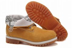 Mens Timberland Roll Top Boot Wheat White shopping online