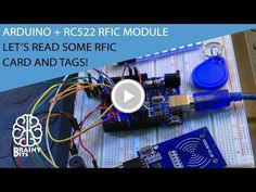 How to use the RC522 RFID module with an Arduino - Tutorial #HackerSpaceTech #arduino #arduinoclass #tutorials www.hackerspacetech.com www.arduinoclass.com
