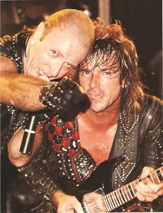 Rob Halford and Glenn Tipton, Judas Priest