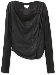 eBay Helmut Lang Leather Jacket - 5 Faves for Fall on InStyle