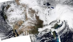 NASA Satellite Sees Powerful Winter Nor'easter by NASA Goddard Photo and Video, via Flickr
