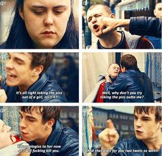 My mad fat diary Mmfd fight Finn brave hot