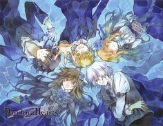 Pandora Hearts ~ one of the all time best manga EVER | Gilbert Nightray, Oz Bezarius, Sharon Rainsworth, Xerxes Break y Alice - Pandora Hearts