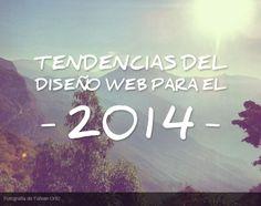 Tendencias 2014 en diseño web