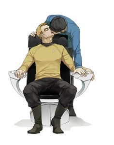 Spirk NSFW | tags | fic | fanart | pinboard | bottom bones network