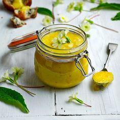 Primrose Curd - edible flower recipe from http://maddocksfarmorganics.co.uk/category/latest-blog/