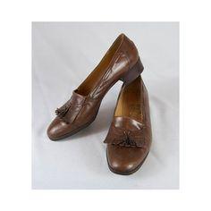 Leather Salvatore Ferragamo Fringed Tassel by winsomeandwayward, $33.00