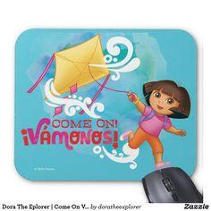 Dora The Eplorer | Come On Vámonos. Producto disponible en tienda Zazzle. Tecnología. Product available in Zazzle store. Technology. Regalos, Gifts. #Mousepads