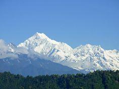 Kangchenjunga from Gangtok - 16 x 20 inches Gangtok, Bhutan, India Travel, Incredible India, Ganesh, Travel Posters, The Incredibles, Nature, Wanderlust