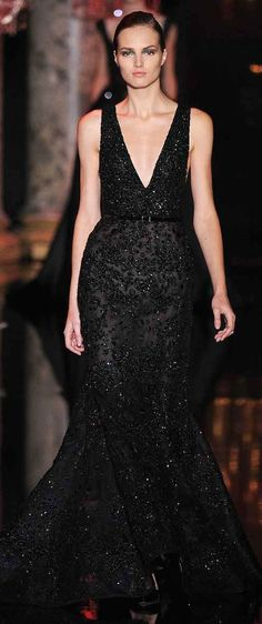 Elie Saab #black dress