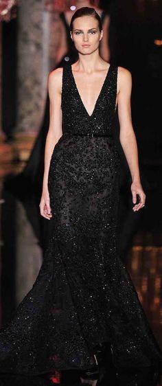 Elie Saab #black dress