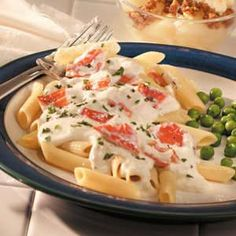 """Quick Crab Alfredo - This came out pretty amazing, actually. It needs another cup of milk for high altitude and you should use 1/4 - 1/2"""" chunks of crab. Didn't use parsley and I definitely recommend separating out the ingredients prior to cooking. Otherwise it would be a bitch to add it all the pan without burning your onions."""