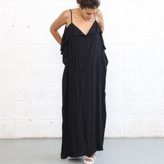 Black Kaftan Dress by naftul on Etsy, $133.00