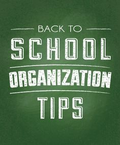 Check out our article for tips and tricks to get organized before your kids head back to school.