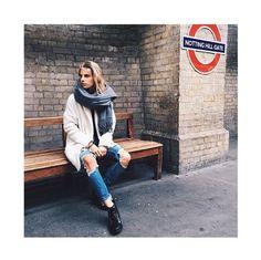 Debi wearing Tiara mint coat in London #mbyM