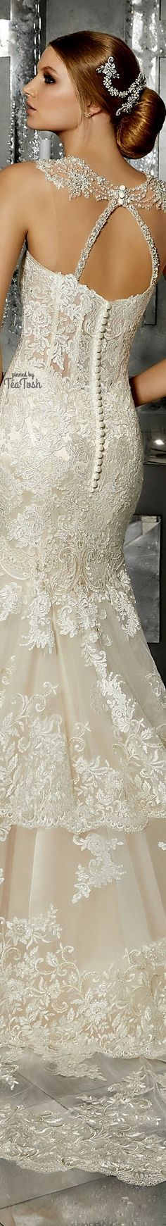 ❇Téa Tosh❇ (Back) Martella Wedding Dress Older Bride, Weeding Dress, Mori Lee, I Got Married, White Outfits, White Lace, Bridal Gowns, Backless, Dress Ideas