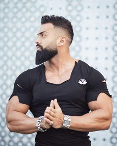 fitness no pain no gain homme musculation muscles thé modèles Gym Memes, Gym Humor, Barber Shop Haircuts, Fitness Motivation, Gym Buddy, Awesome Beards, Bodybuilding Motivation, Bodybuilding Fitness, Gym Girls