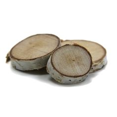 Birch Tree Wood Mini Disk Slabs