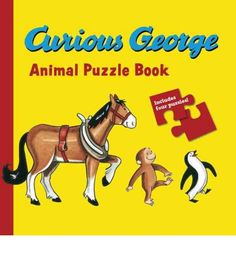 Lets you join Curious George as he visits all of his animal friends. This novelty book features a fun poem for reading aloud and beautiful, bright illustrations of George and his favourite animals, and a four-piece jigsaw puzzle. It also allows preschool readers assemble the age-appropriate puzzles to complete the illustrations.