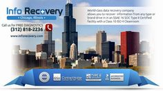 GSA Certified InfoRecovery LLC provides affordable, professional data recovery, data forensics, hard drive recovery, RAID data recovery services in Chicago & Rosemont, IL #DataRecovery #DataLoss #HardDriveRecovery #RaidRecovery http://www.inforecovery.com/data-recovery-chicago