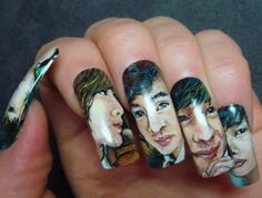 Boys Over Flowers k-drama nails--F4 (I think I already posted this but I'm not checking...)