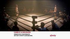 WATCH the VIDEO XFINITY Canelo vs. Golovkin TV commercial 2017 • .