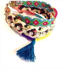 Friendship Bracelet - Bracelet with Tassel -hamsa pendant on Etsy, ฿533.00