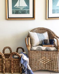 Cosy coastal nook at Skippers Cove Waterfront Resort with our Verdeel Cushion. Thanks Sacha Kann Styling for sharing!  💙 Eadie www.eadielifestyle.com.au
